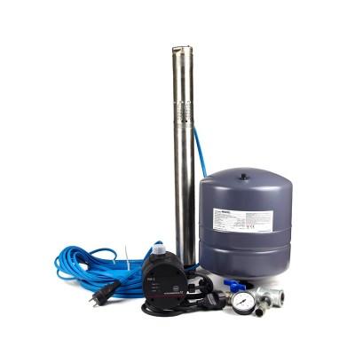 GRUNDFOS Unterwasserpumpe Wasserversorgungspaket SQ3-40 1x230V PC15