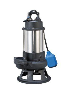 Swiss Pump Schmutzwasser-Tauchmotorpumpe H-21PF, 400 V mit Schwimmerschalter