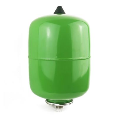 Refix DD 8, Membran-Druckausdehnungsgefäß, grün, 10 bar, durchströmt